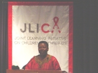 Noreen Kaleeba at JLICA