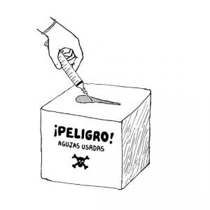 peligro needle box jpg