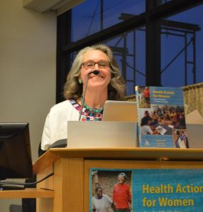 Lead author of Health Actions for Women, Dr. Melissa Smith