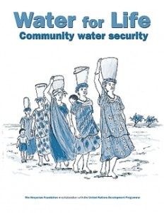 Front cover of Water for Life, Community water security