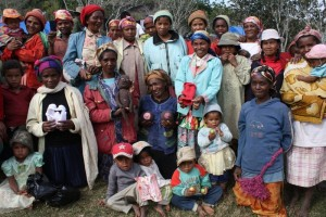 Group of Madagascan women