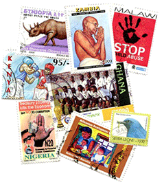 Stamps from around the world