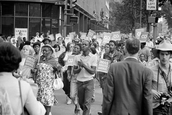 Poor People's March at Lafayette Park - 1968